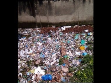 A waste choked canal in Madurai. Photo courtesy the writer