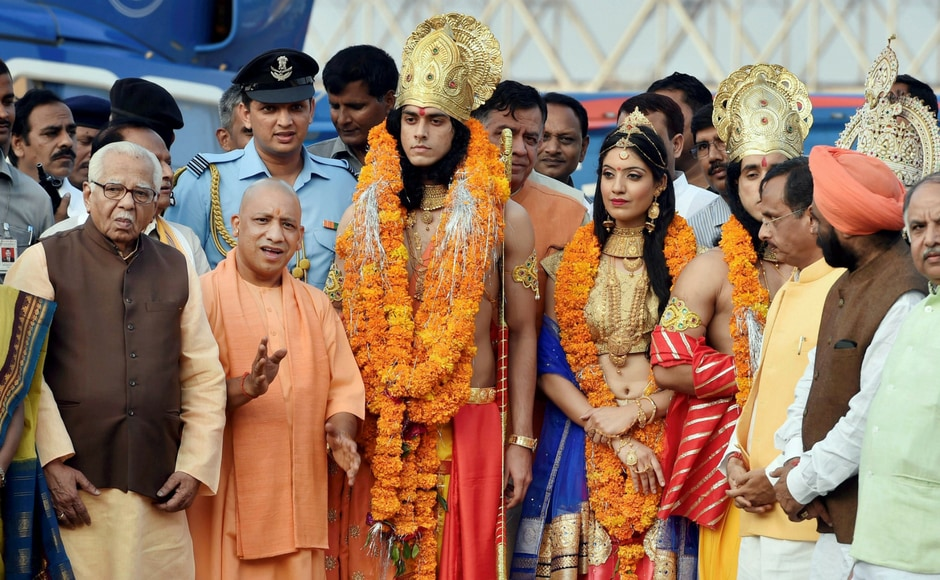 The Uttar Pradesh chief minister revealed the state's plans for the progress of Ayodhya.