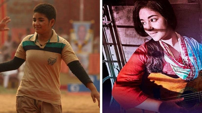 Zaira Wasim in Dangal (left) and Secret Superstar (right). Images via Facebook