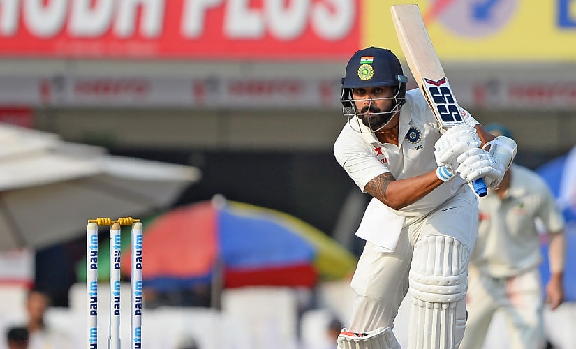 Murali Vijay is likely to return into the playing XI after missing out the previous Test series due to wrist injury. AFP