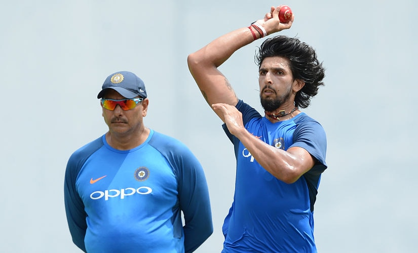Ishant Sharma led state side Delhi in the Ranji Trophy bagging 15 wickets in six innings. AFP