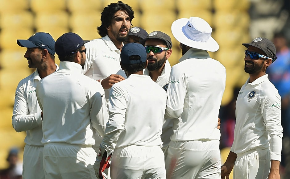 Ishant Sharma had a fantastic return to Test cricket claiming five wickets in the match including some fine spells of fast bowling. AFP