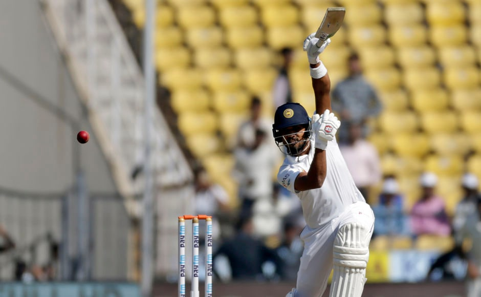 Sri Lanka's captain Dinesh Chandimal was the only saving grace in the listless visiting side scoring half-centuries in both innings of the match but the 28–year old kept running out of partners. AP