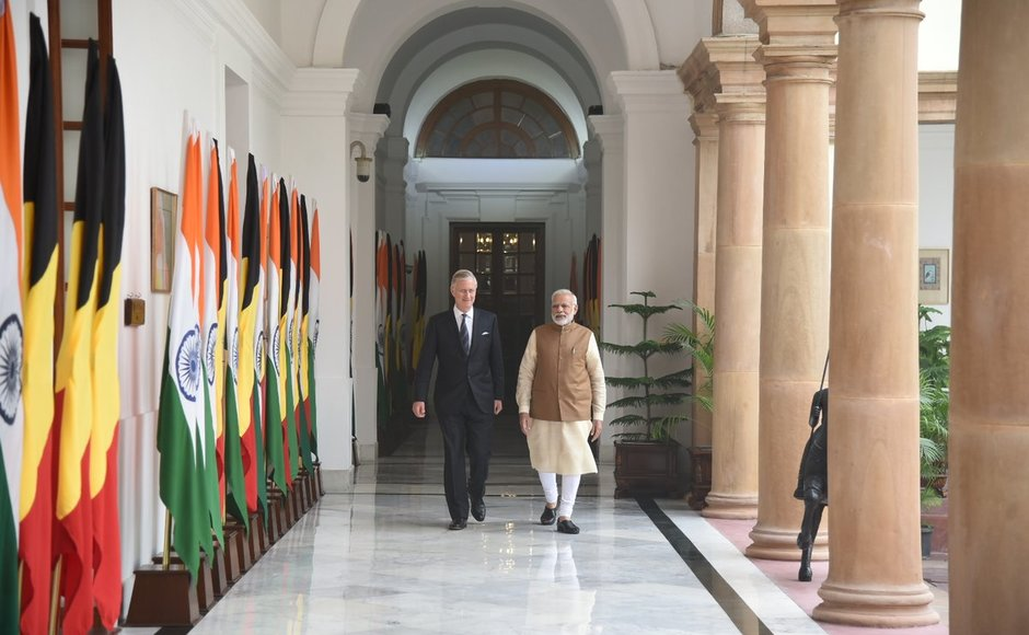 Ahead of the meeting with Modi, external affairs minister Sushma Swaraj had called on the visiting dignitary his first state visit to India following his ascension to the throne in 2013. Twitter@narendramodi