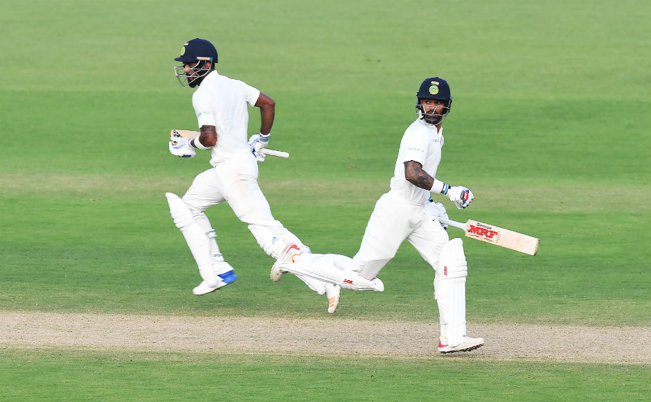 Shikhar Dhawan, KL Rahul dominate with bat as India bounce back against Sri Lanka on Day 4 of Kolkata Test