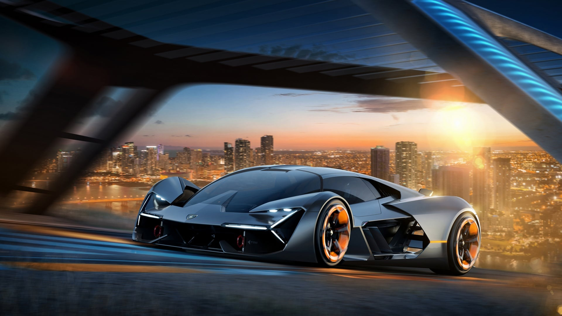 "Italian carmaker Lamborghini collaborated with MIT to present the new design concept ""Lamborghini of the Terzo Millennio"". Image Credits: Lamborghini"