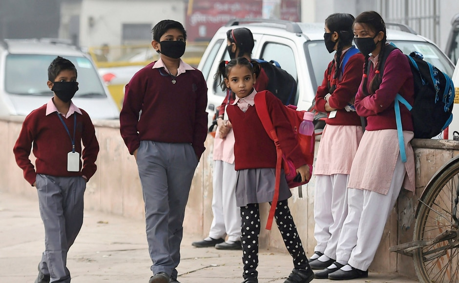 After remaining shut for almost a week citing toxic pollution levels in the air, schools in Delhi, Noida and Ghaziabad reopened on Monday. However, institutes in Gurugram remained shut. PTI