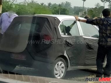 2018 Hyundai Santro. Rushlane