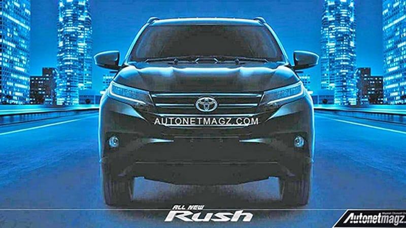 Toyota Rush lekaed images. Autonetmagz