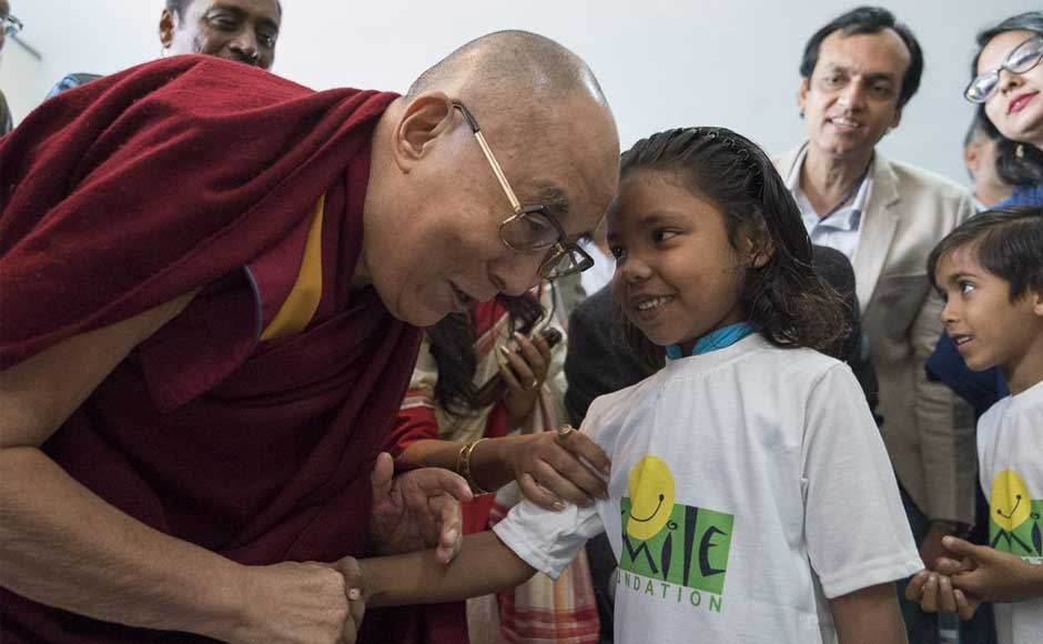 The initiative enables children to discuss their issues with each other and also with youth icons and inspirational leaders. Dalai Lama, who has lived in India in self-imposed exile since 1959, was chosen to inaugurate this event, where he spoke on 'Universal Responsibility and Compassion'. dalailama.com