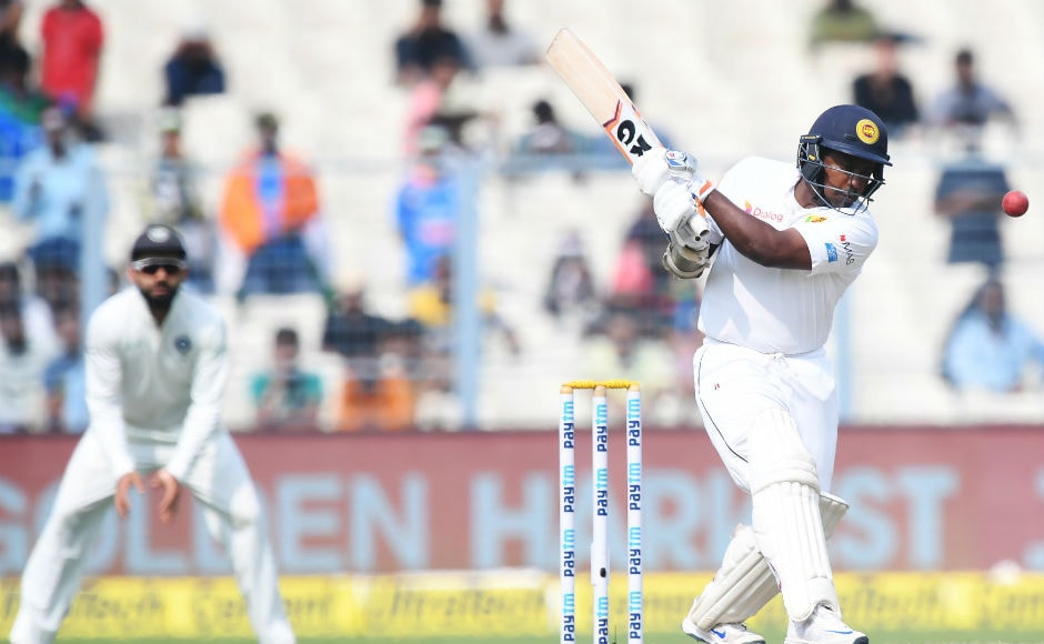 Sri Lanka took the lead earlier in the day and made sure India work very hard for the remaining wickets. Rangana Herath's resistance proved to be frustrating for the host team as he played a valiant knock of 67 before becoming falling to Bhuvneshwar Kumar. AFP