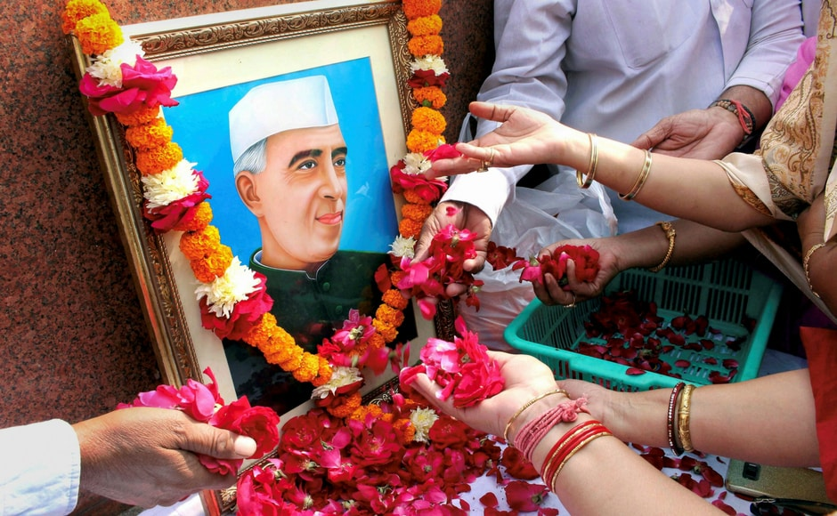 Nehru, who was independent India's first prime minister, dearly loved children and was referred by them as 'Chacha Nehru'. PTI