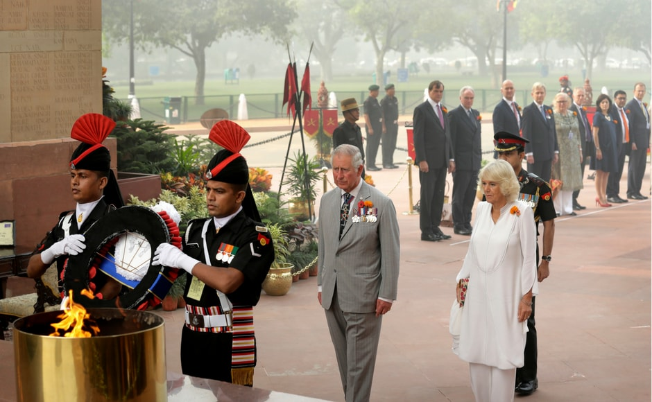 During the visit, Prince Charles stressed on India's role among the Commonwealth of Nations as it is home to 60 percent of the group's population of 2.3 billion. AP