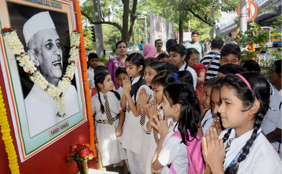 His birth anniversary is celebrated as 'Children's Day' across the country. As a part of paying a tribute to him, various schools organise prayers, debates and other activities. PTI