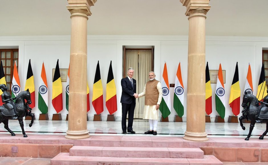 India is Belgium's second largest export destination and third largest trade partner outside EU, according to official data. Royal couples visit India is a move to strengthen between the two nations. Twitter@narendramodi
