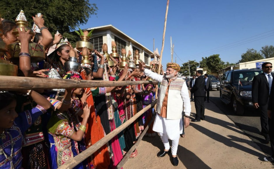 Taking a dig at the opposition party, which is making all-out efforts to dislodge the long-ruling BJP in Gujarat, Modi asked,