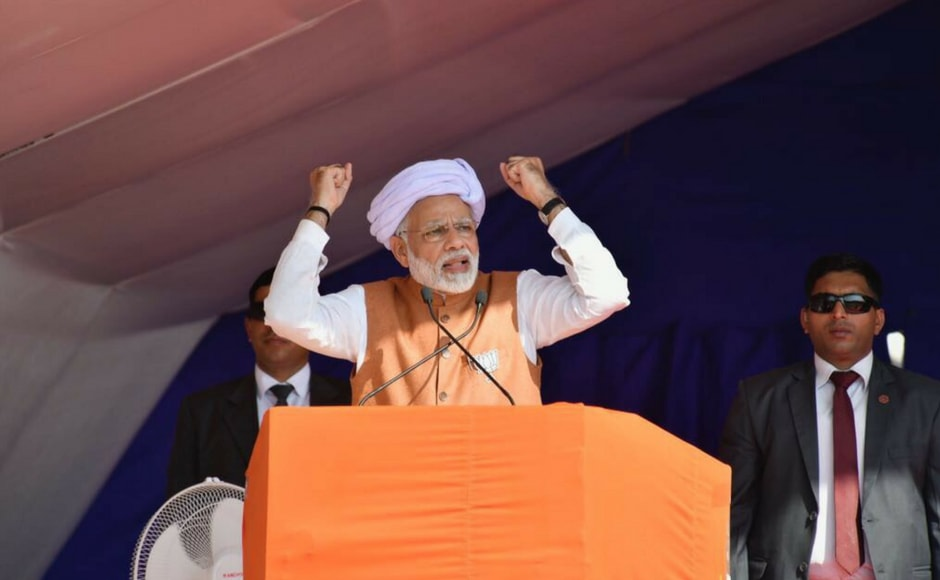 Prime Minister Narendra Modi addressed a series of rallies in Saurashtra and Kutch as Gujarat gets ready to go to polls on Monday. Firstpost @Pallavi Rebbapragada
