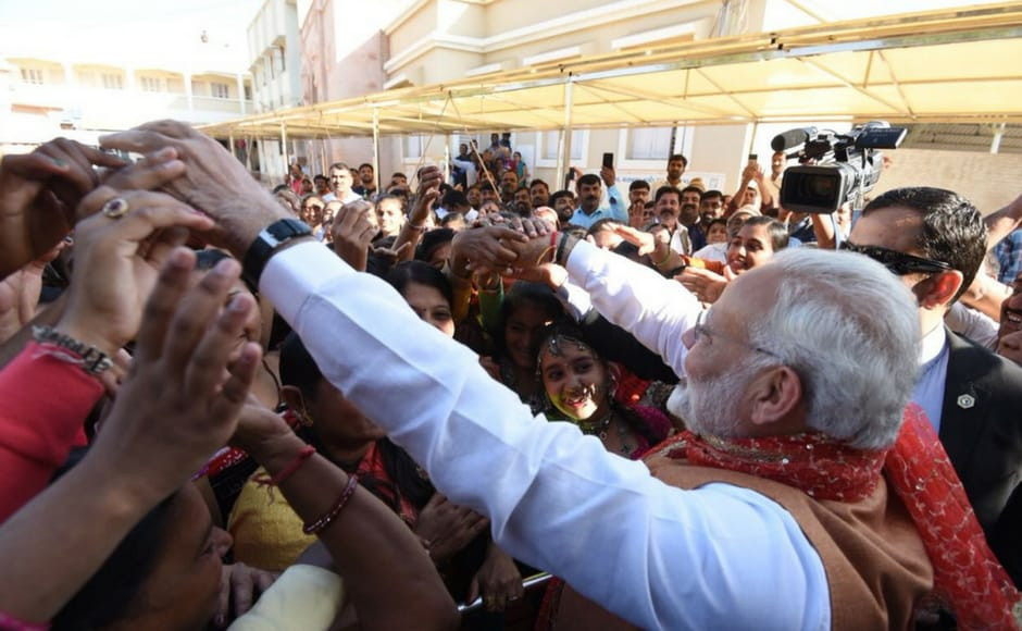 However, while speaking at Bhuj, Modi steered clear of discussing GST. The first phase of voting in Gujarat will take place on 9 December. Firstpost@Pallavi Rebbapragada