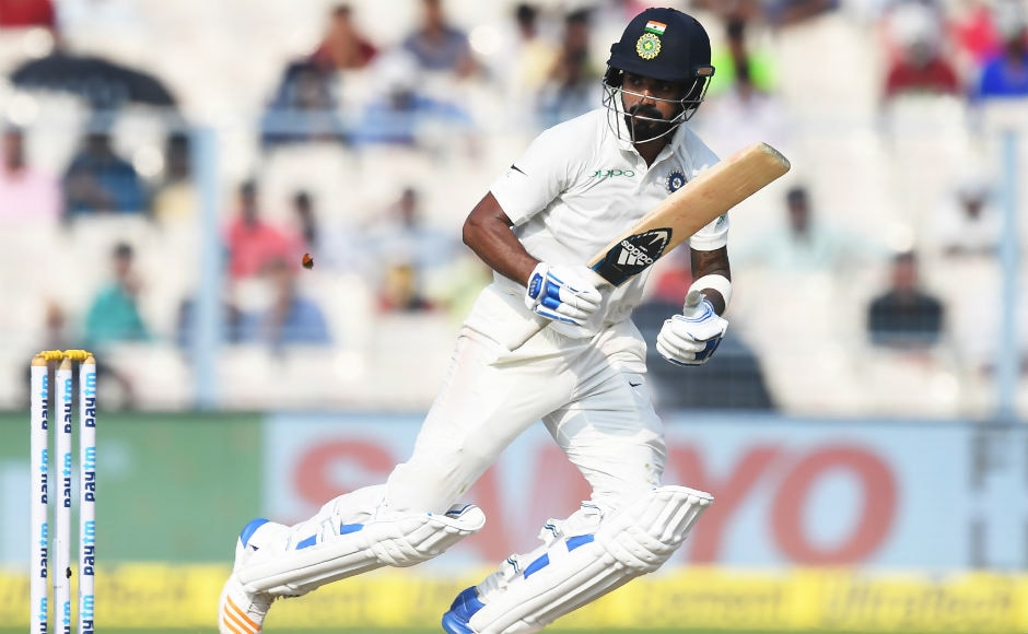 Indian openers started on a positive note with both Dhawan and Rahul playing some good shots. Rahul remained unbeaten on 73 when play was stopped on Day 4 due to bad light. AFP