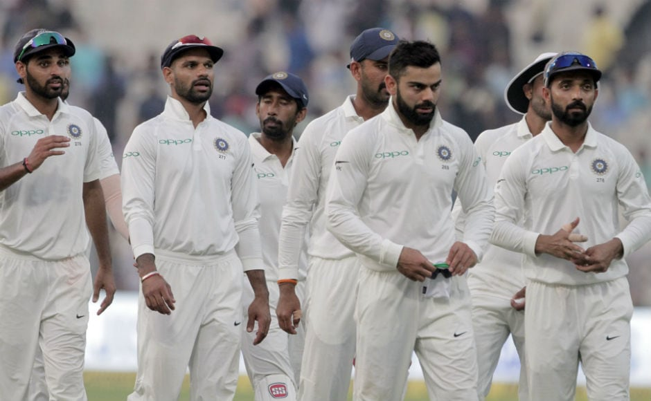 At the end, light faded away and umpired stopped the play. The Test ended in a draw after Sri lanka dominated the hosts for most of the period. Credit to India for trying to snatch a victory out off nothing. AP