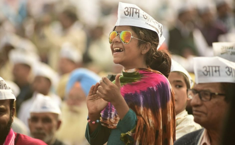 It has been a roller-coaster of a time for AAP over the past five years that saw many of its founding members leaving the party disgruntled over the functioning of AAP under Arvind Kejriwal. Even on the political front, AAP that managed a landslide victory in Delhi, 2014 has kept a low profile after the debacle in multiple elections including Punjab in 2017. Image Courtesy: Twitter @AamAadmiParty