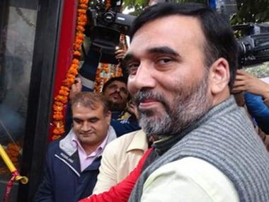 File image of AAP leader Gopal Rai. PTI