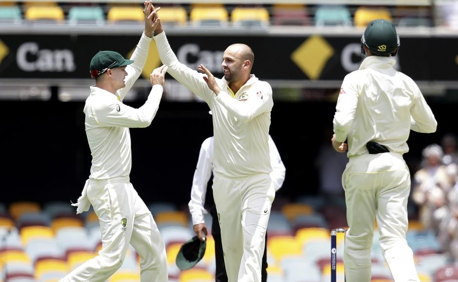 Australia's pacers Mitchell Starc and Pat Cummins each claimed three wickets while spinner Nathan Lyon took two scalps. AP