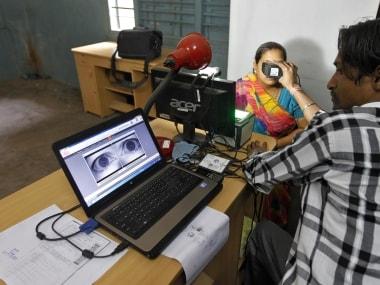 A file photo of Aadhaar registration. Reuters