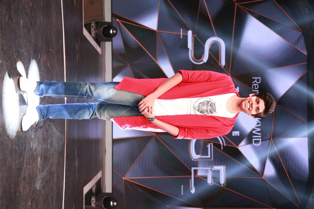 Eliminated contestant Akshay Dakhane.