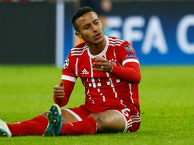 File image of Thiago Alcantara. Reuters