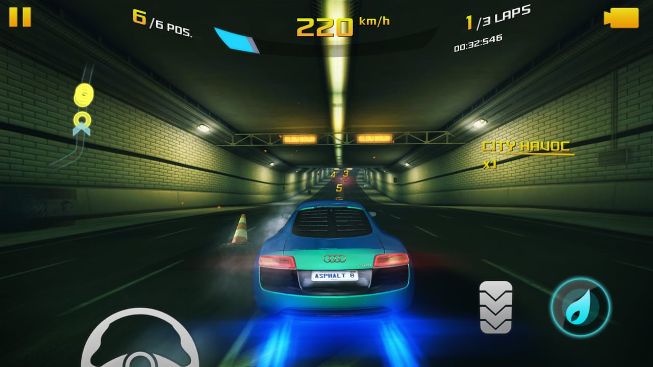 Asphalt 8: Airborne was playable for extended sessions on maxed out settings.