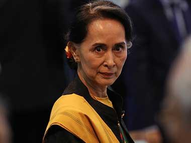 File image of Myanmar leader Aung San Suu Kyi. AP
