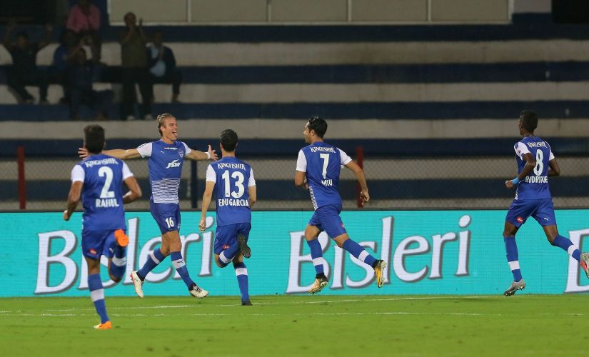 Bengaluru FC sit at the top of the ISL table with two wins in their opening two encounters. ISL/SportsPics