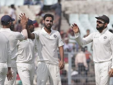 India vs Sri Lanka: Bhuvneshwar Kumar, Mohammed Shami mix brains with brawn to produce a spell for ages