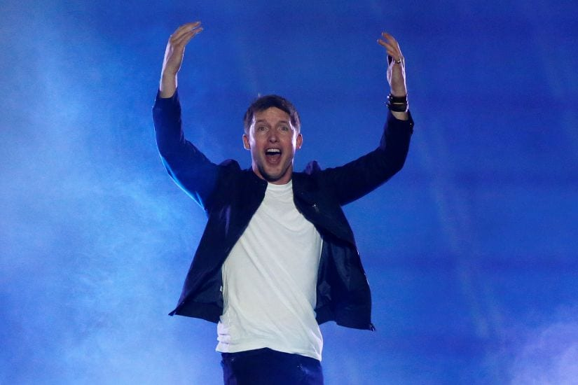 Singer James Blunt performs as part in the opening ceremonies of the Invictus Games in Orlando Florida, U.S., May 8, 2016. REUTERS/Carlo Allegri - S1AETCZQWCAB