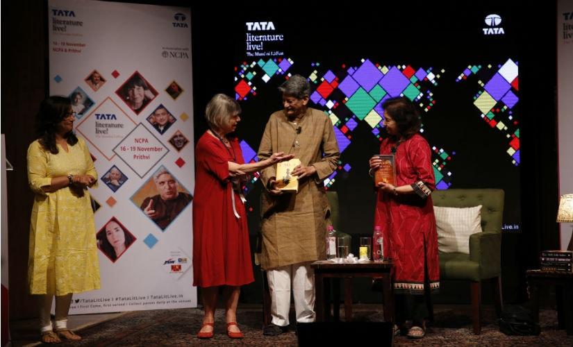 Kiran Nagarkar's 'Jasoda' and Nayantara Sahgal's 'When The Moon Shines By Day' were inaugurated by celebrated British novelist Dame Margaret Drabble at the Tata Literature Live! festival in Mumbai