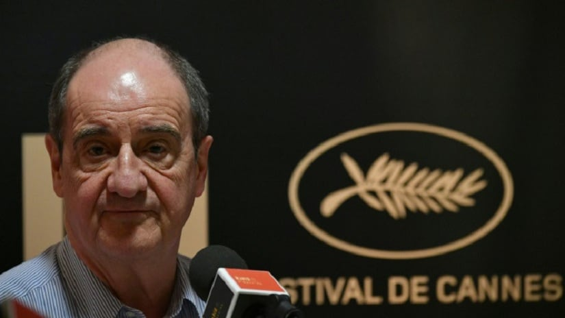 Cannes film festival president Pierre Lescure says the top Palme d'Or prize will be awarded on a Saturday next year. Image courtesy: Loic Venance/ AFP