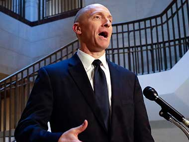 File image of Carter Page, a foreign policy adviser to Donald Trump's 2016 presidential campaign. AP