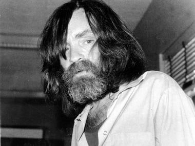 File image of convicted murderer Charles Manson. AP
