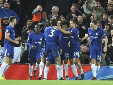 Chelsea earned a well-deserved point at Anfield with a late equaliser against Liverpool. AP