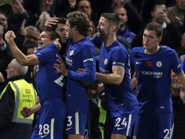 Chelsea won every individual duel against Manchester United in the Premier League on Sunday. AFP