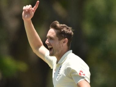 England's Chris Woakes ended up with figures of 6 for 54. Image courtesy: Twitter @englandcricket