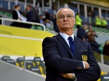 Nantes' Italian head coach Claudio Ranieri. AFP