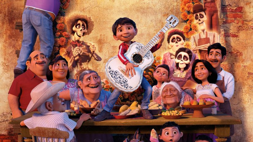 Coco is a brightly colored fable surrounding the Mexican holiday Dia de los Muertos (Day of the Dead). Pixar