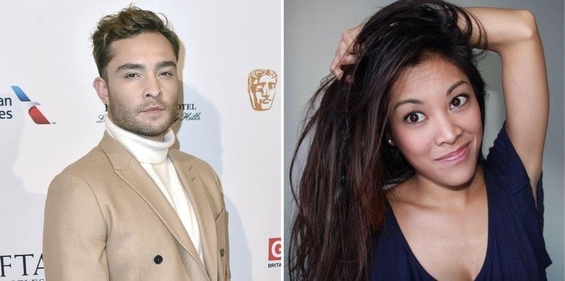 Aurelie Wynn (R) is the second actress to accuse Ed Westwick of rape.