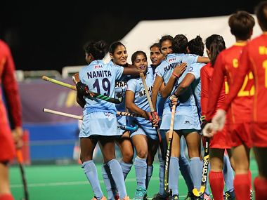 India ended a 13 year wait to clinch the Women's Asia Cup. Image courtesy: Twitter @TheHockeyIndia