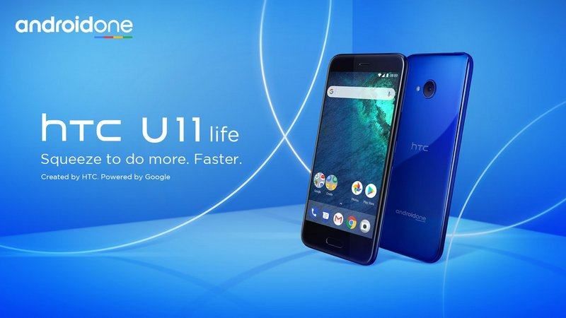 HTC U11 Life Android One version.