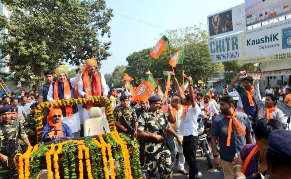 He stressed that people will choose politics of development over caste politics. Shah said that the Congress must first look at the Amethi model before talking about the Gujarat one. Twitter @AmitShah
