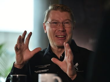 Mika Hakkinen opens up about his Formula 1 career and life after retirement in an exclusive chat with Firstpost. Image Courtesy: Apoorva Gupte