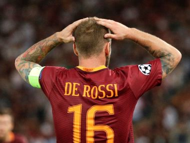 File image of AS Roma's Daniele De Rossi. Reuters